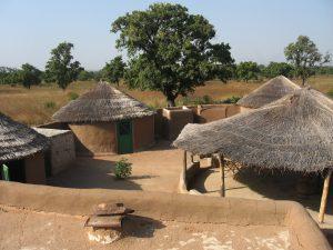 Homestay Afrika als onderdeel van een kleinschalig toerisme project in Ghana.
