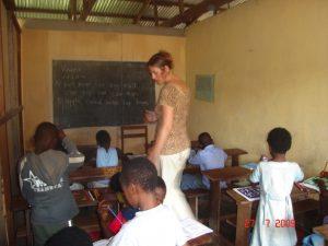 Reis naar Kameroen; vrijwilligerswerk op het gebied van onderwijs en gezondheidszorg