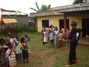 vrijwilligerswerk onderwijs Afrika; als vrijwilliger of student werken of stagelopen op een school in Kameroen