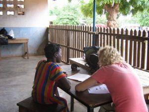vrijwilligerswerk afrika; lesgeven op een school in Afrika